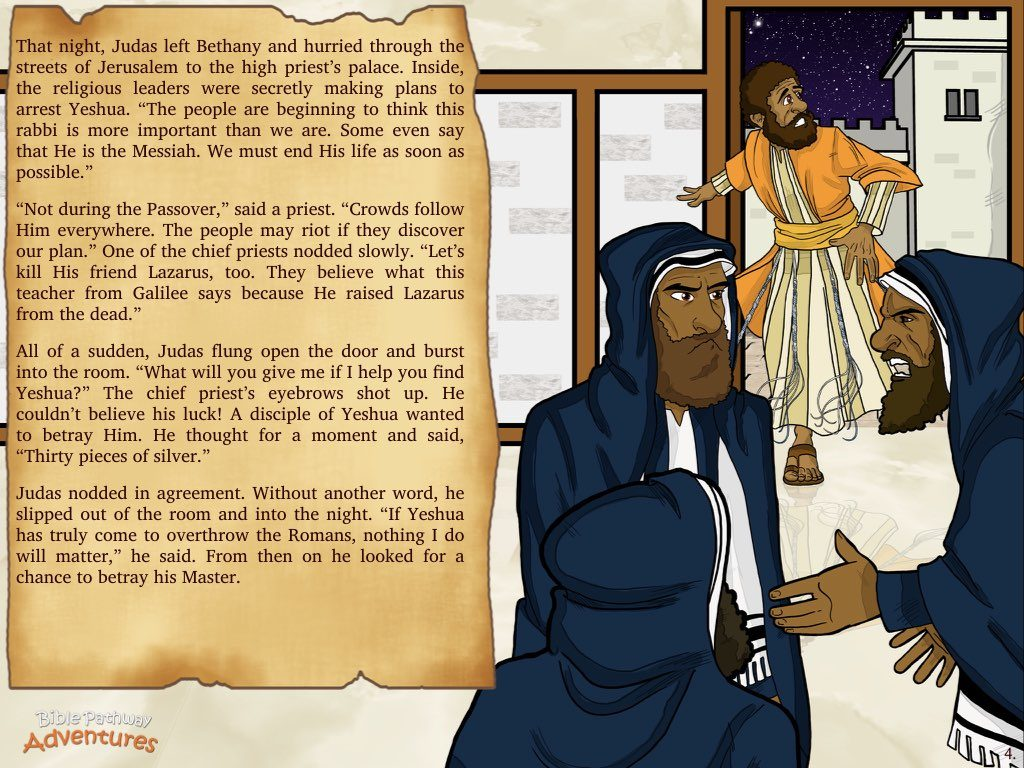 Betrayal Of The King Bible Pathway Adventures