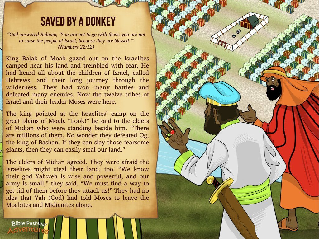 Saved By A Donkey Bible Pathway Adventures