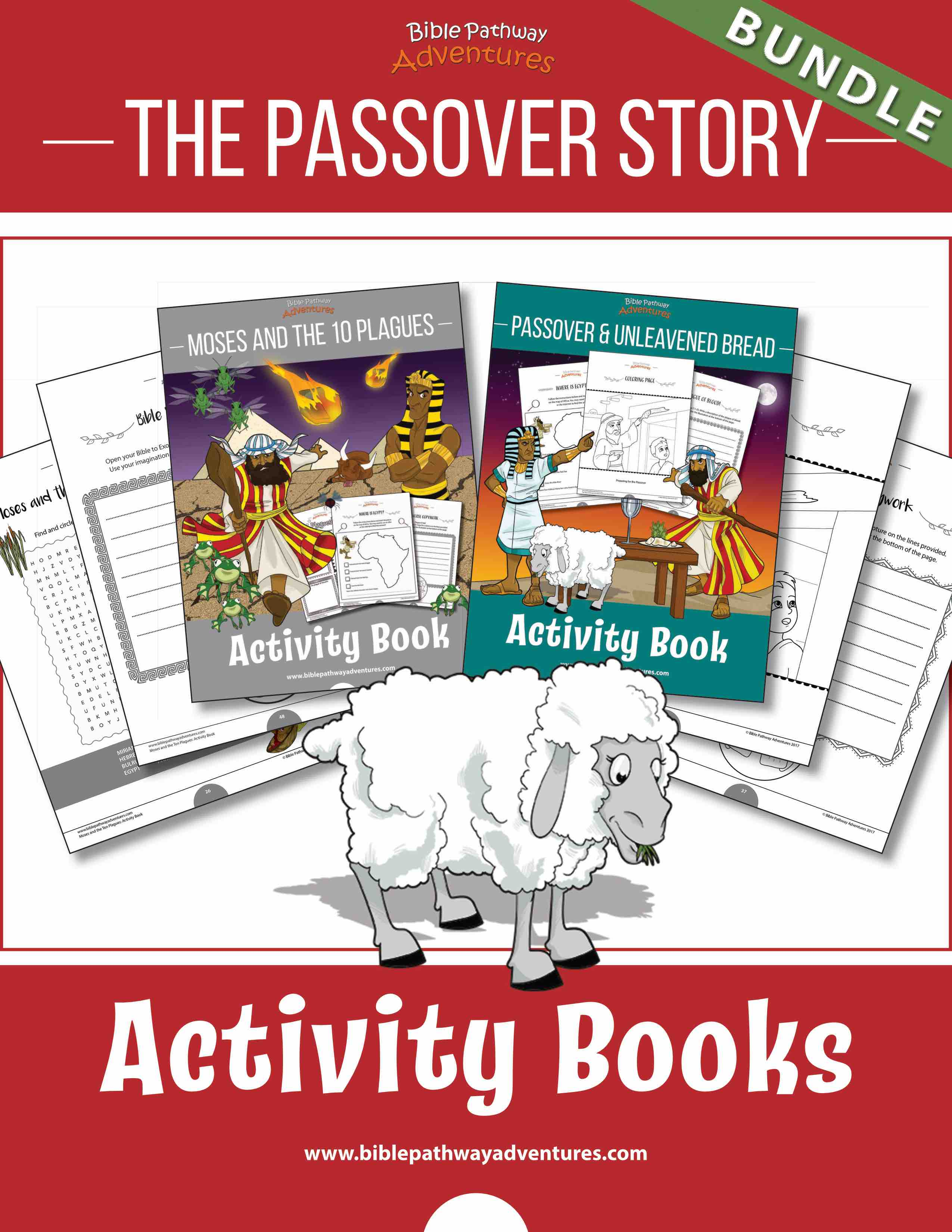 Bundle The Passover Story Bible Pathway Adventures