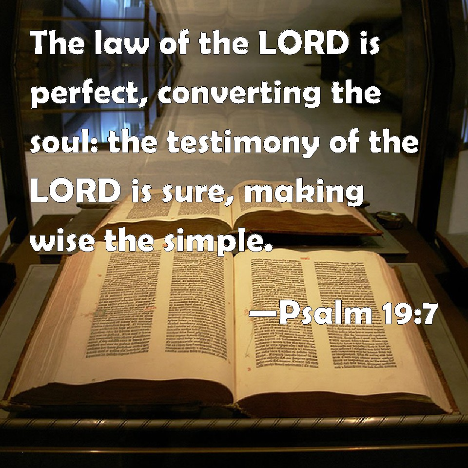 Image result for the law of the lord