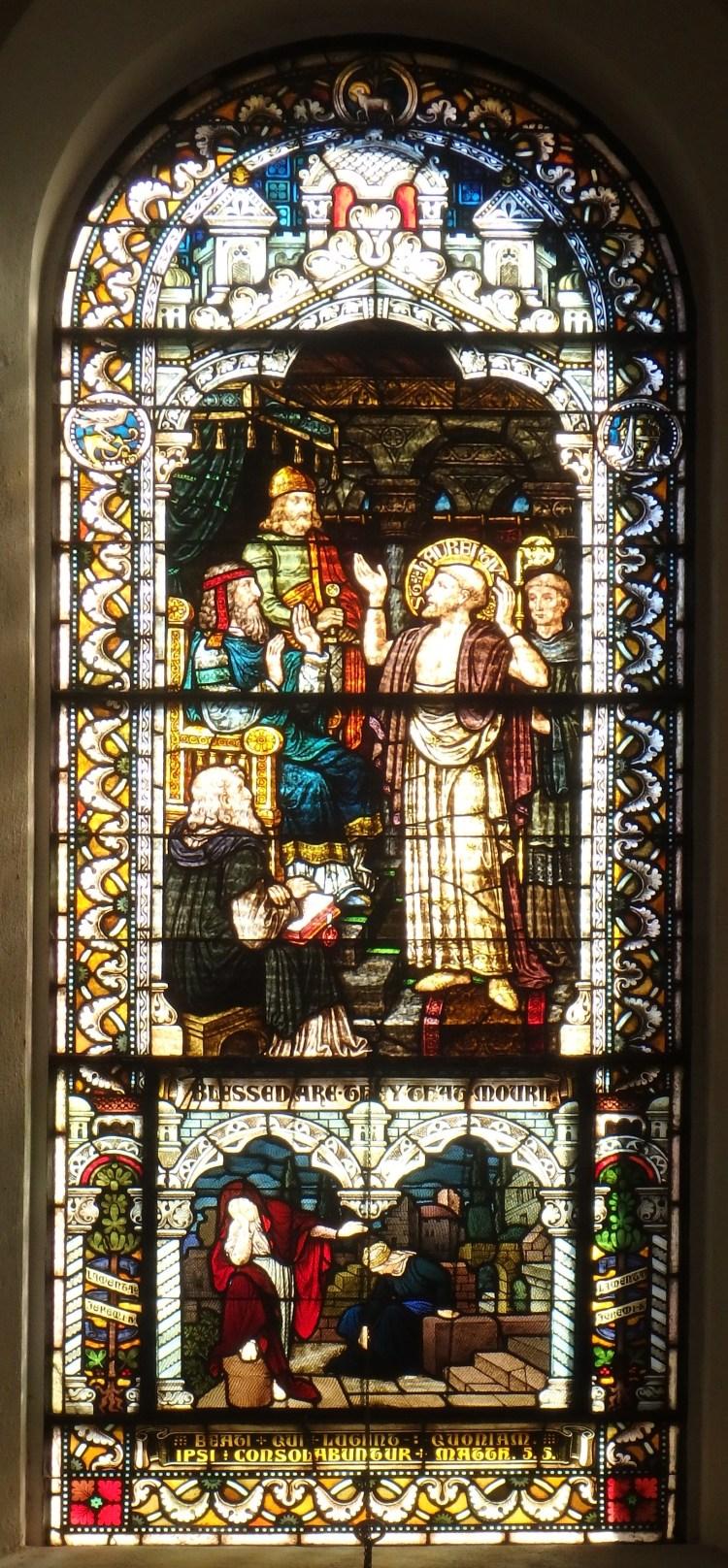 Saint Meinrad Archabbey, Matthew 5:5