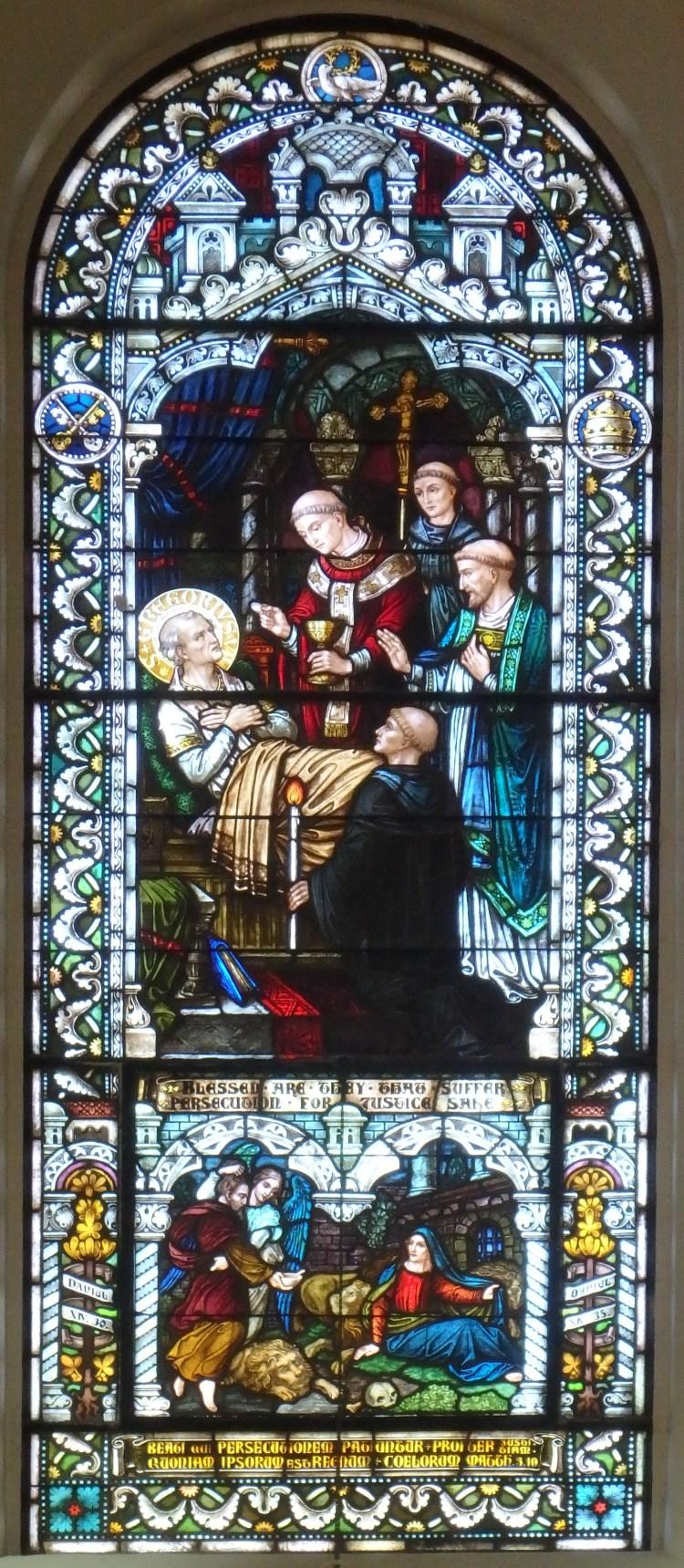 Saint Meinrad Archabbey, Matthew 5:10