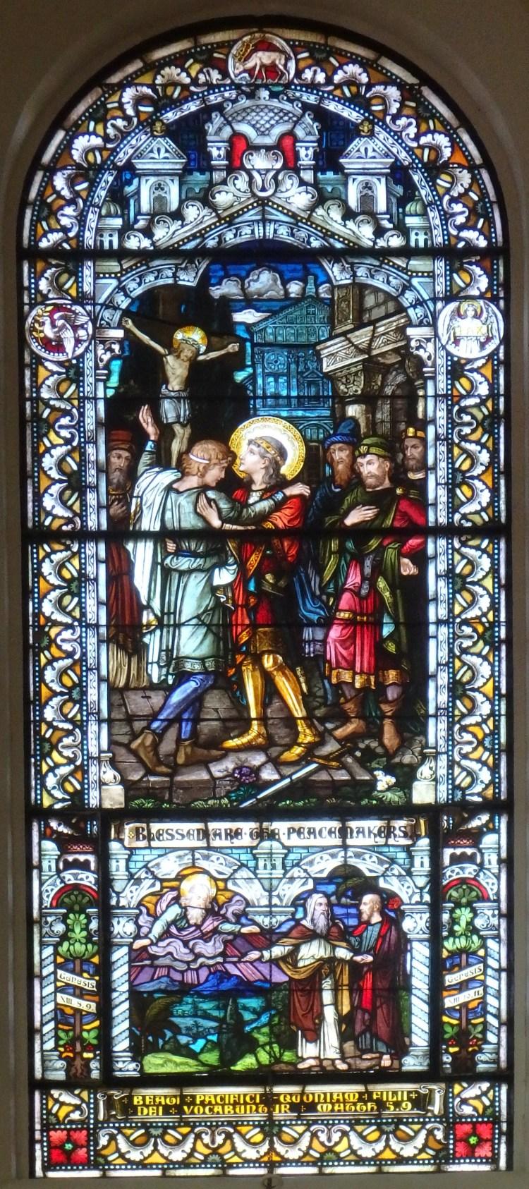 Saint Meinrad Archabbey, Matthew 5:9