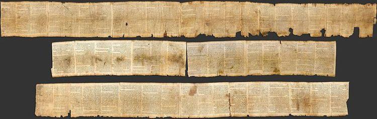 Great Isaiah Scroll, 1Qlsa(a) (Wikimedia Commons)