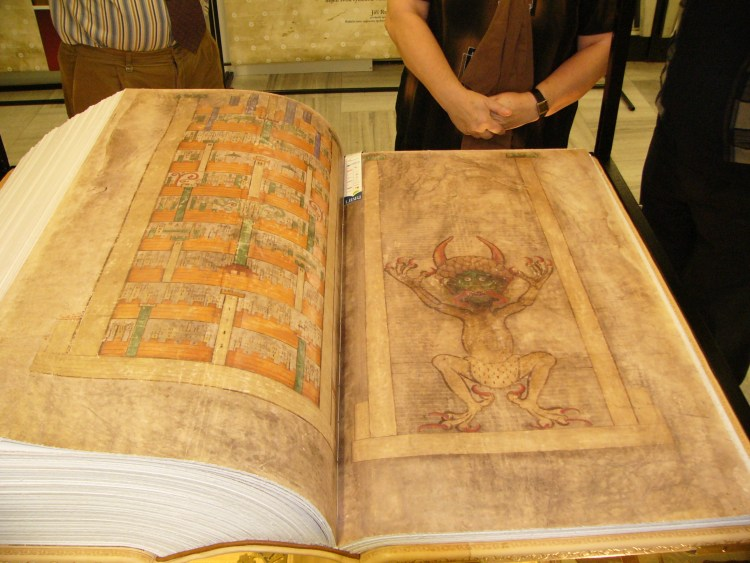 Codex Gigas (Devil's Bible)