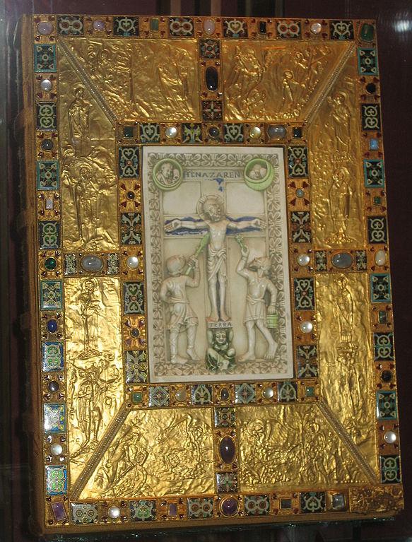 Codex Aureus of Echternach (Wikimedia Commons)