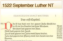 1522 September Luther NT