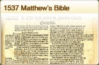 1537 Matthews Bible