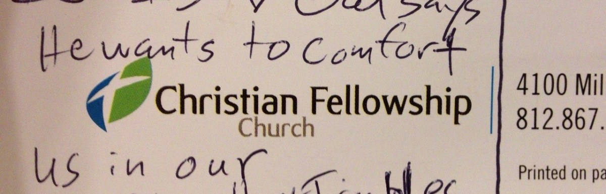Comforting Strength: Sermon Notes from CFC 06102012