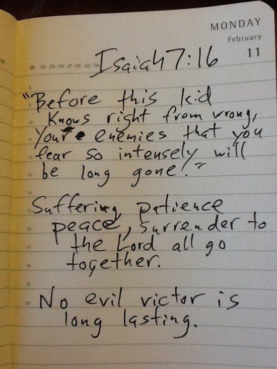 Isaiah 7:16 comments