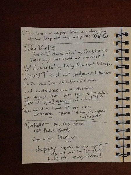 John Burke and Time Keller on discipleship