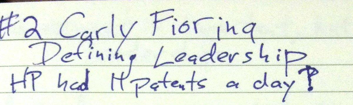 WCAGLS14: Carly Fiorina's talk on Defining Leadership