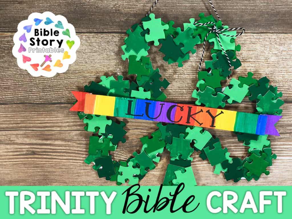 Trinity Clover Bible Craft