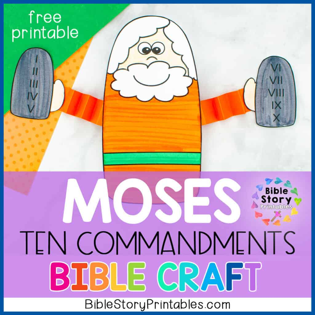 Free Ten Commandments Craft Archives