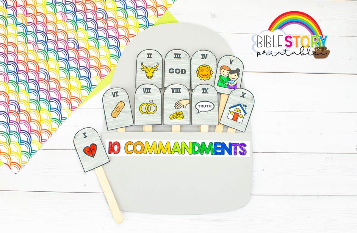 Ten Commandments Crafts