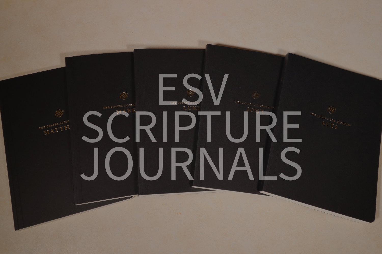 ESV Scripture Journals: The Perfect Study Companion