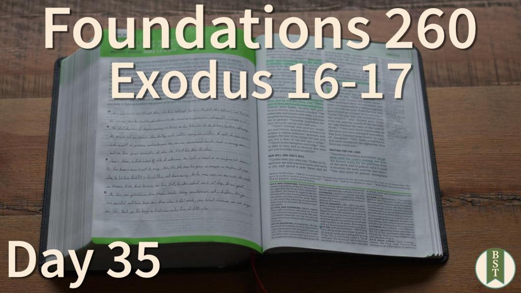F260 Bible Reading Plan - Day 35