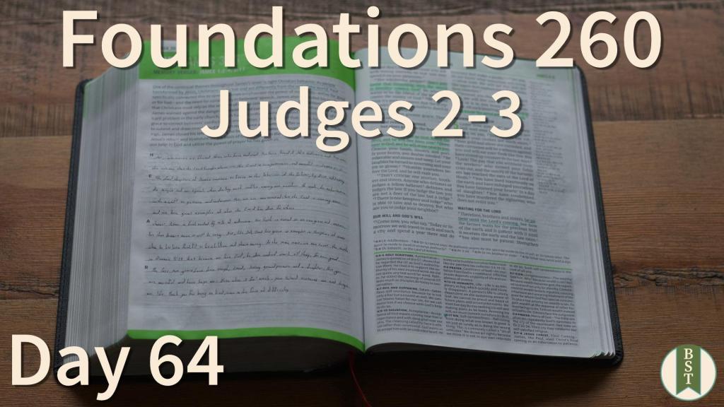 F260 Bible Reading Plan - Day 64
