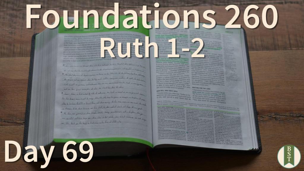 F260 Bible Reading Plan - Day 69