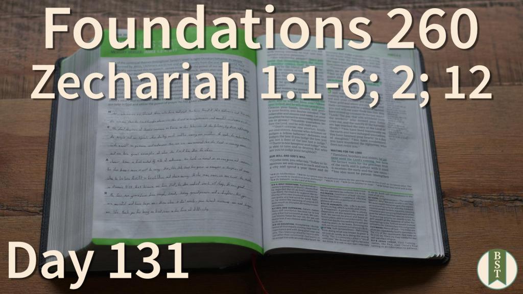 F260 Bible Reading Plan - Day 131