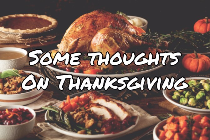 SAL#133 Some Thoughts On Thanksgiving