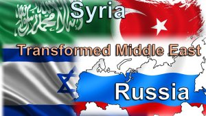 Syria, Russia and the Transformed Middle East