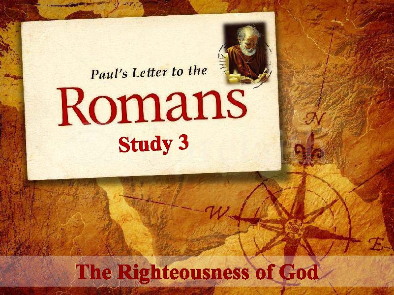Summary Of Paul S Letter To The Romans