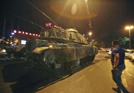 Turkey after coup AB harass