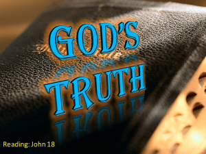 God's Truth: Which Church has it?  Video post