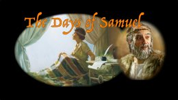 The Days of Samuel 5pt Video Study