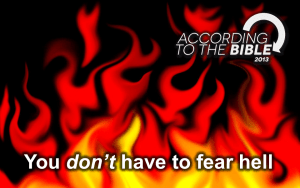 You Don't have to Fear Hell! True Christian Teaching - Dr. David Fraser Video post
