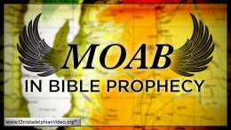 Moab in Bible Prophecy :- Geoff Henstock Video post