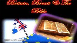 Britain Brexit & the Bible What the Bible has to say.