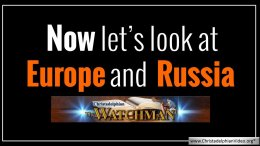 Now let's look at Europe and Russia!! Christadelphian Watchman Prophecy Update 30.3.2018 :