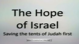The Drama of Israel's Restoration 2 part New Video Release