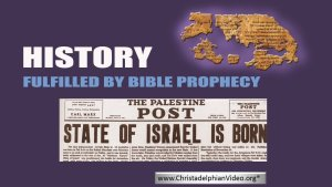 History: Fulfilled by Bible Prophecy - Why is it Important? Video Post