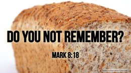 "Thought for February 12th. ""DO YOU NOT REMEMBER?"""