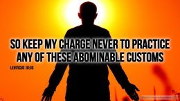 """Thought for March 10th. """"SO KEEP MY CHARGE NEVER TO …"""""""