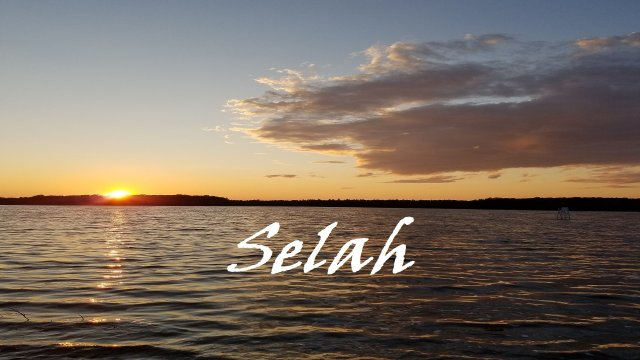 Pause to Consider - 'Selah' Video Podcast