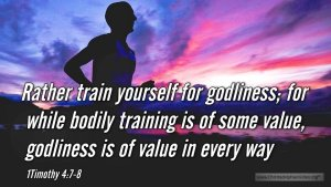 "Thought for May 23rd. ""GODLINESS IS OF VALUE IN EVERY WAY"""