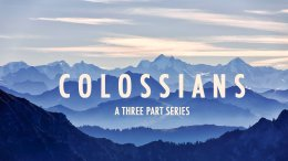 Colossians Rugby Bible Study videos