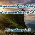 "Thought for August 25th. ""DO YOU NOT KNOW … """