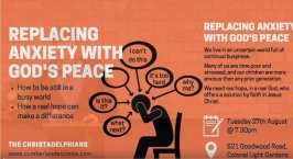 Replacing Anxiety with God's Peace