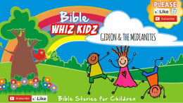 Bible Stories for Children - Gideon and the Midianites