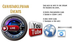 Christadelphian Video Events Live Facebook Stream