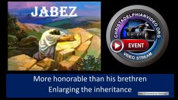 Jabez: More honourable than his brethren.