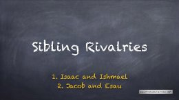 """Sibling Rivalries"": 2 Videos (Talks for youths)"