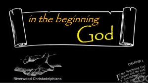 In The Beginning: 3 Videos - Bible Study Series