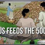 Lesson from the Bible for Children: – The feeding of the 5000 (John 6:1-13)