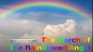 WOW! MUST SEE!! The March of the Rainbowed Angel - Revelation 10